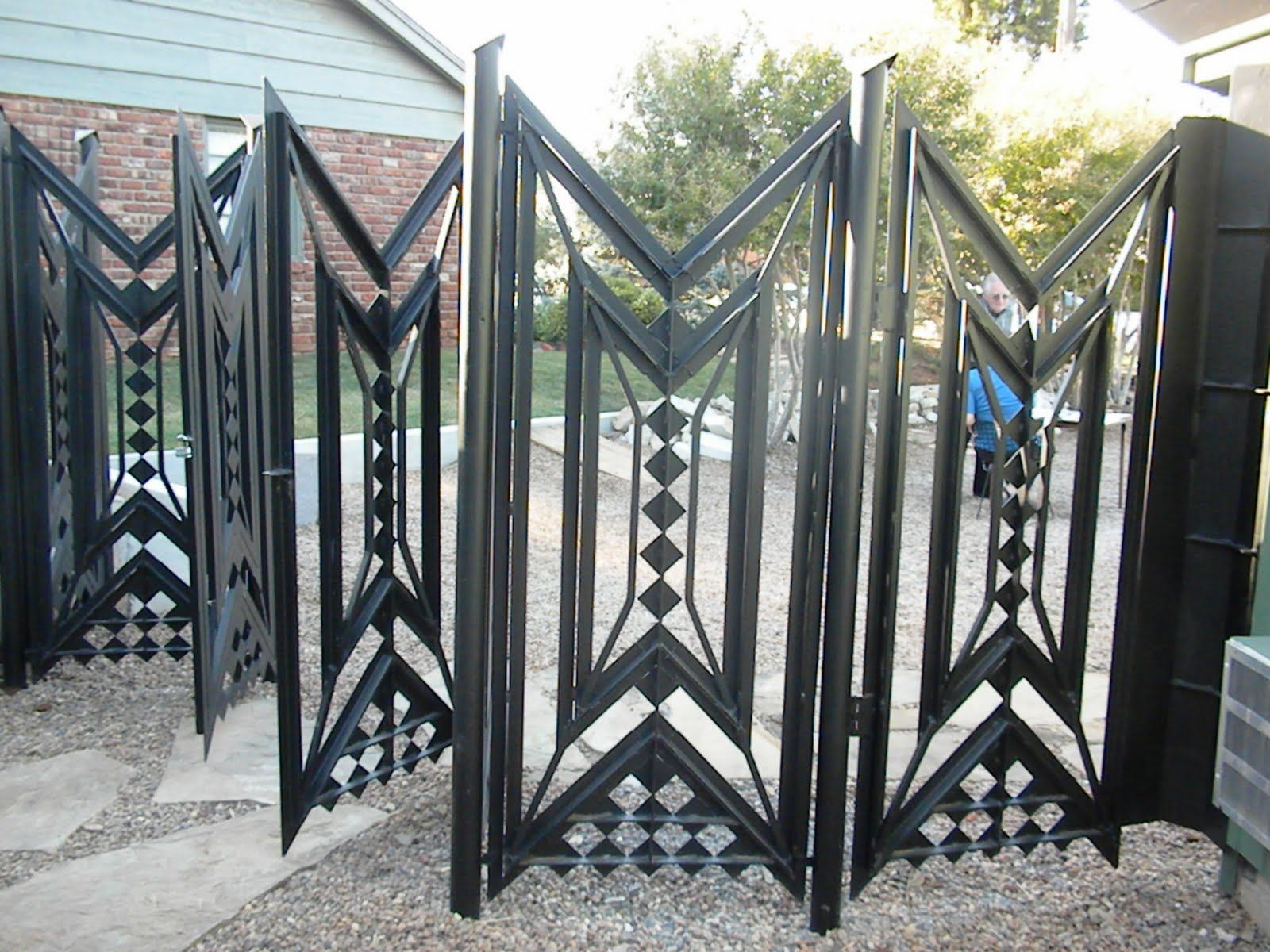Homes Pictures Modern X Gate Designs For Homes  Part 48