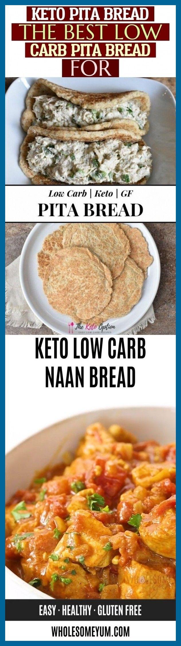 Keto Pita Bread The Best Low Carb Pita Bread For Keto ...