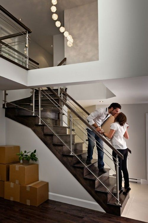 LOVE this child-safe railing   Staircase design, Home ...