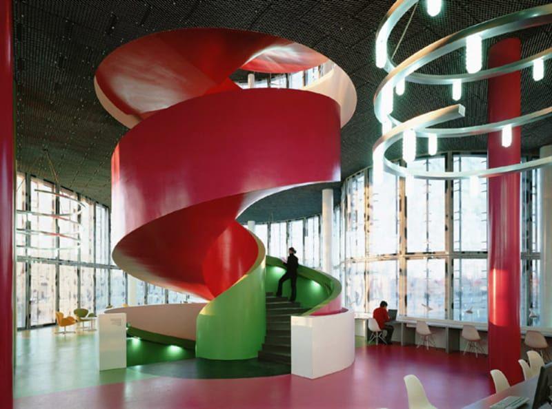 Herzog de meuron duccio malagamba cottbus university for Progetti architettura interni