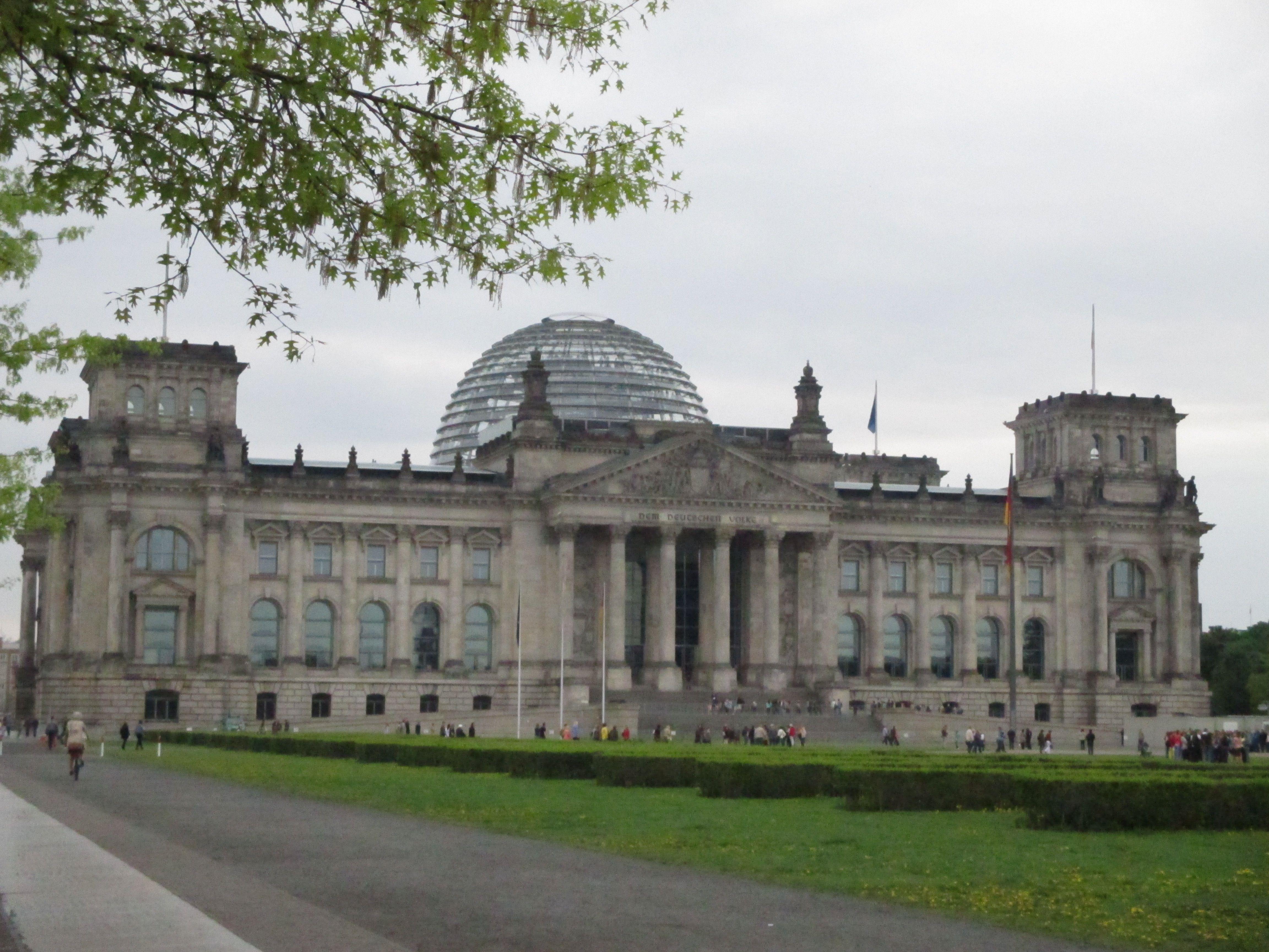 Reichstag Berlin Place Of The German Parliament Bundestag Reichstagsgebaude Deutsch