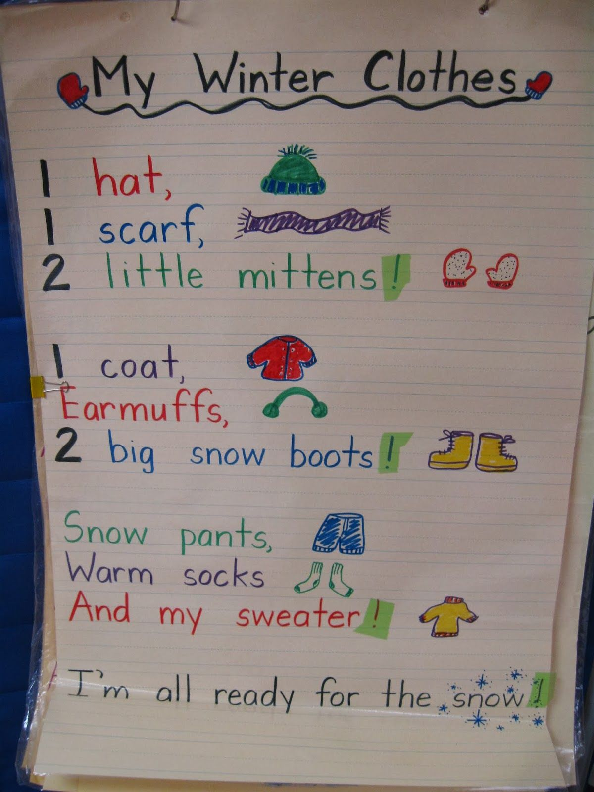 Snow Day Catch Up Writing Fun Winter Centers And A