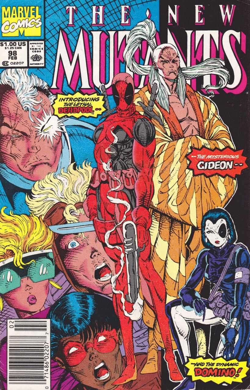 New Mutants 98 First Appearance Of Deadpool Marvel Comics Deadpool Comic Marvel Comic Books New Mutants 98