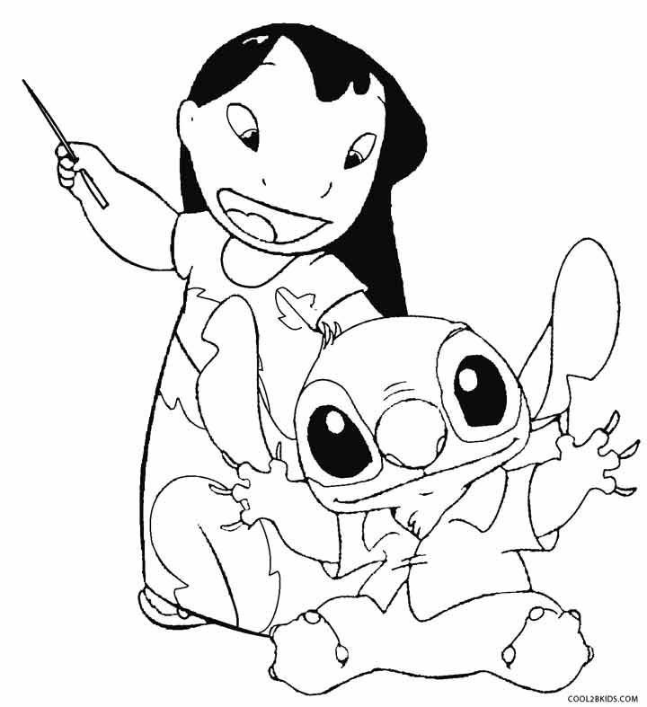 Printable Lilo and Stitch Coloring Pages For Kids | Cool2bKids ...