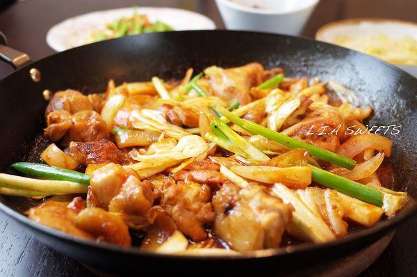 春川辣炒雞食譜、作法 | L.I.A SWEETS的多多開伙食譜分享