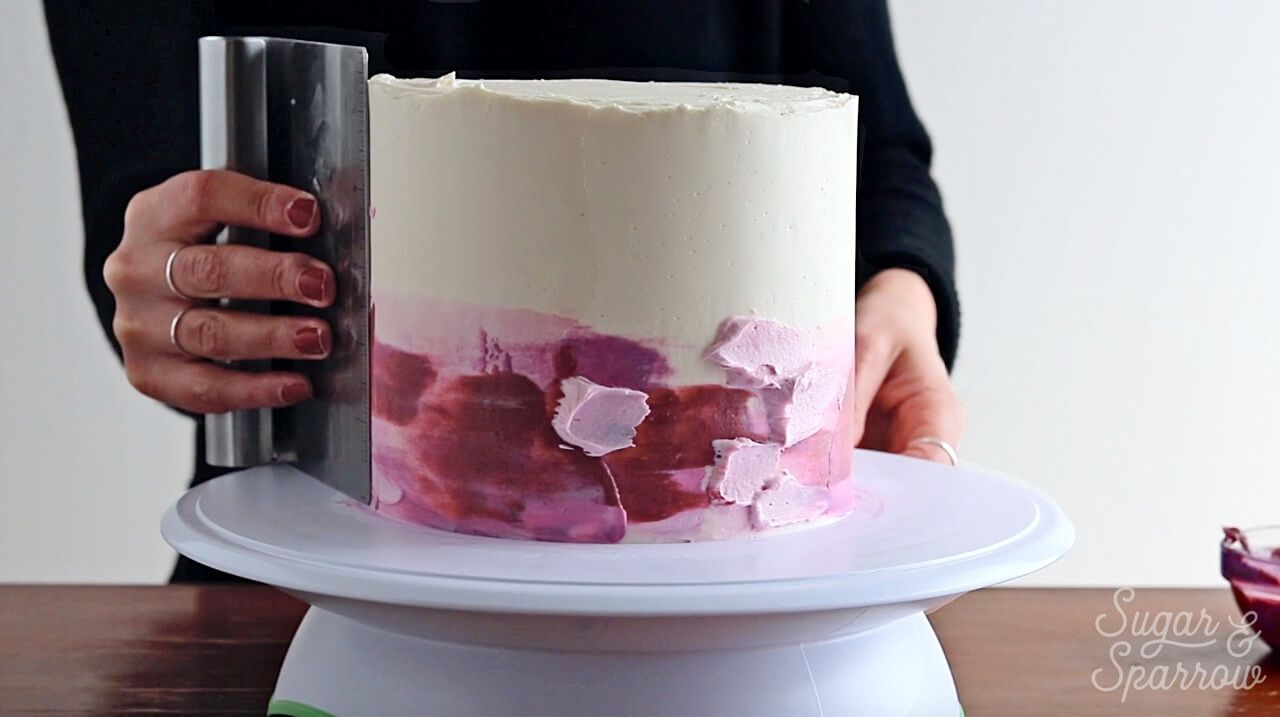 Watercolor Ombre Buttercream Tutorial Painted Cakes