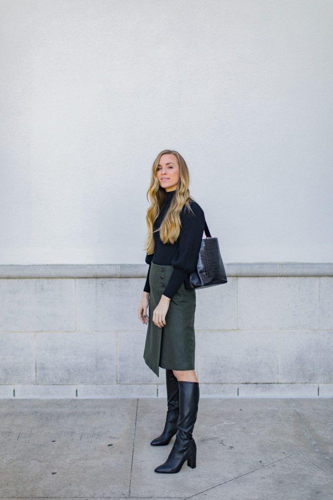 Fall Date Night Outfit | Natalie Yerger (mit Bildern ...