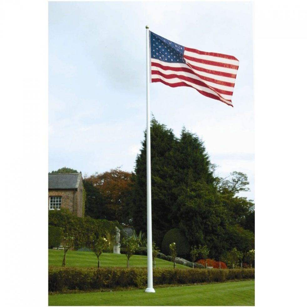 yard flag pole flagpole guidelines how to fly your flag from the right 1204