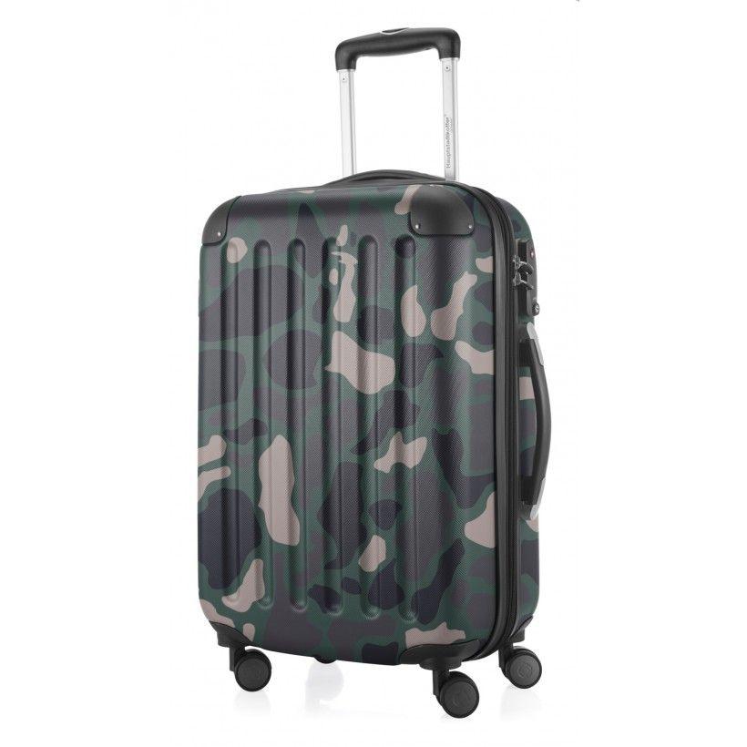 spree handgep ck koffer hartschale camouflage matt tsa. Black Bedroom Furniture Sets. Home Design Ideas