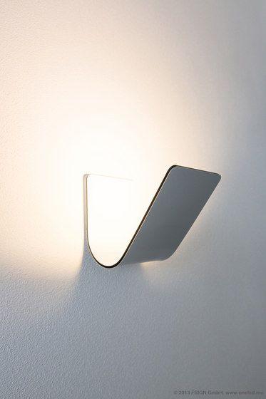 oneLED wall luminaire V Fabricant oneLED Designer Frech³ & Jo Hecht