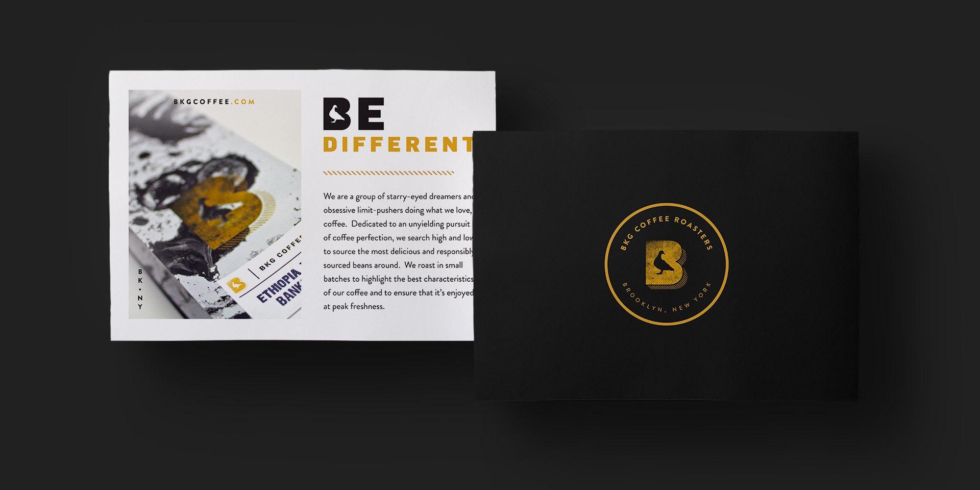 Dan Gearitybrand Packaging For Brooklyn Coffee Roaster Bkg Coffee Brooklyn Coffee Brand Packaging Coffee Roasters