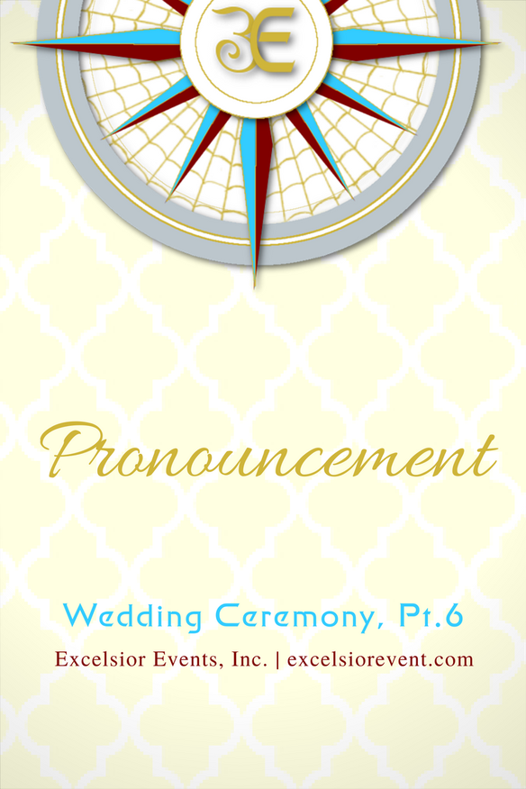 Wedding Ceremony Pronouncement (With images