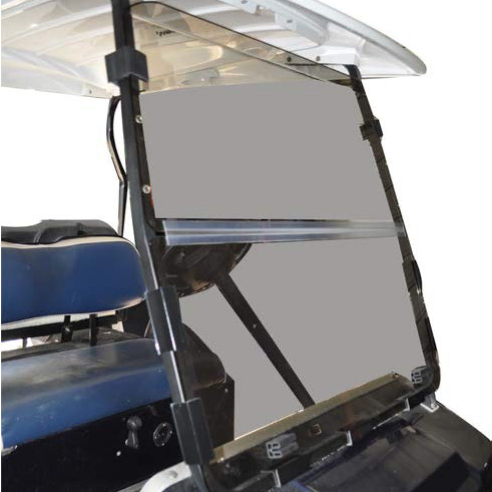 Recpro™ Club Car Ds Golf Cart Clear Windshield With Folding ...