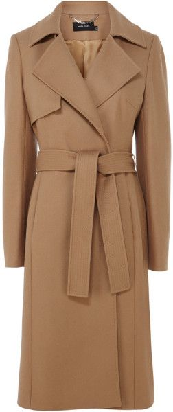 c1b87b7f66e6 Love this  KAREN MILLEN ENGLAND Ultimate Camel Coat  Lyst