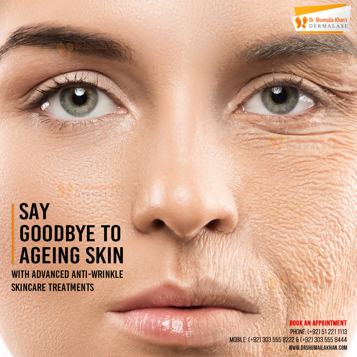 Say Goodbye To Ageing Skin In 2020 Skin Care Treatments Dermatologist Skin Specialist