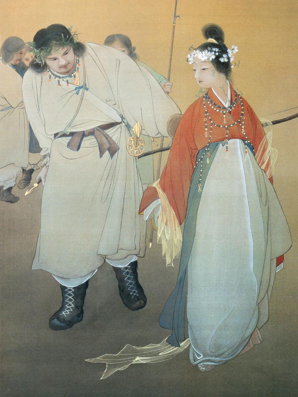 石井林響 木華開耶姫 Ishii Rinkyo Konohanasakuyahime 壁紙