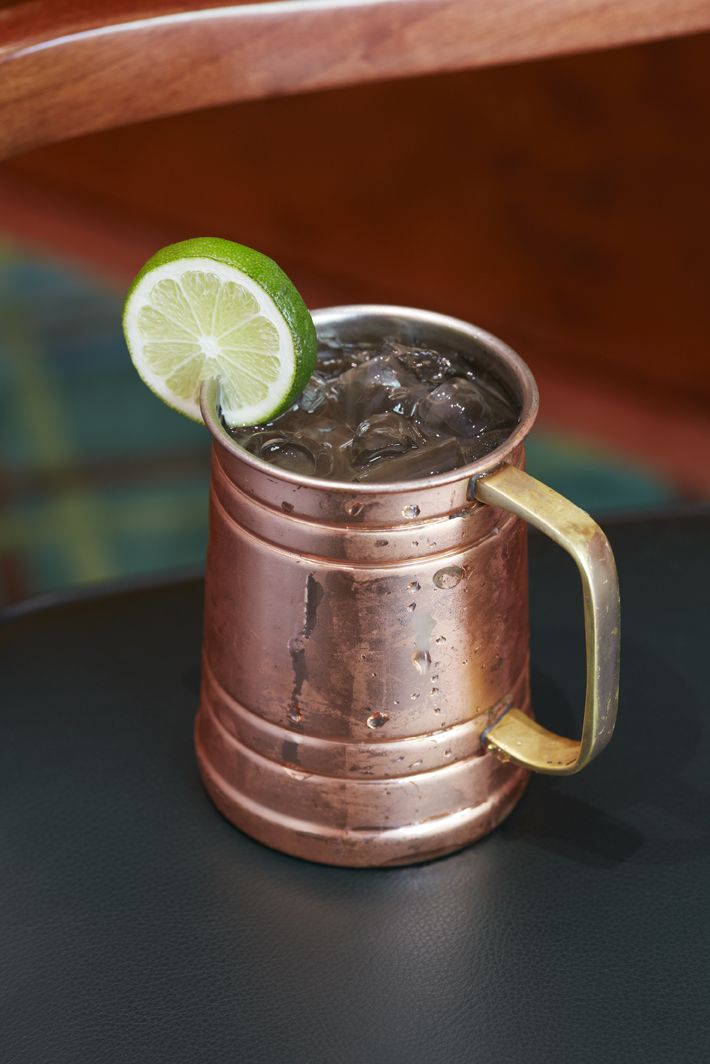 Nothing Like A Moscow Mule Tail In On The Terrace Of Contemporary But Clic Bar Nine12