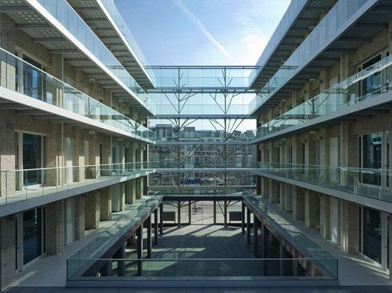 Tony Fretton Architects has completed a new seven-storey 8000 sqm building in central Amsterdam.  The project is the fourth building completed by the practice in the Netherlands, the country in whic…
