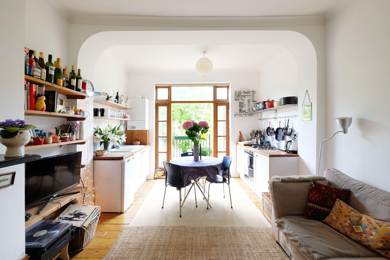 A London Flat Inspired By Danish Design London Apartment Interior Danish Interior Design Small Flat Inspiration