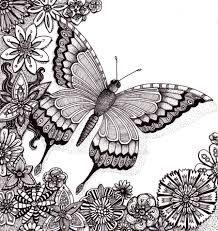 Risultati immagini per zendoodle butterfly