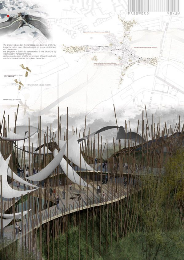 Winners of the sc2012 links bridging rivers competition for Raumgestaltung prasentation