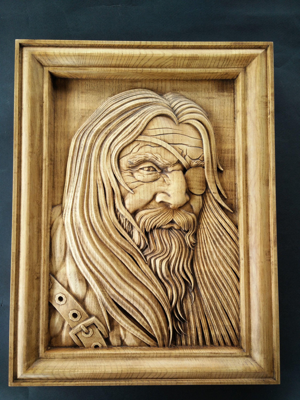 Mighty Odin The All father Norse god mythology Wotan Vikings ...