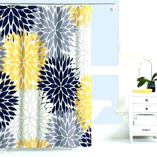 Navy Blue And Yellow Curtains Yellow And Blue Curtains Gray And