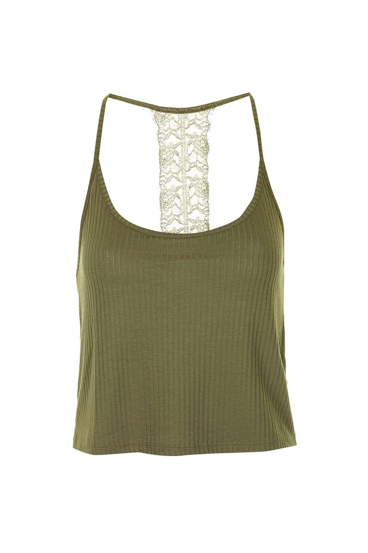 4166da983700d Lace Back Cami - Topshop Miss Selfrige
