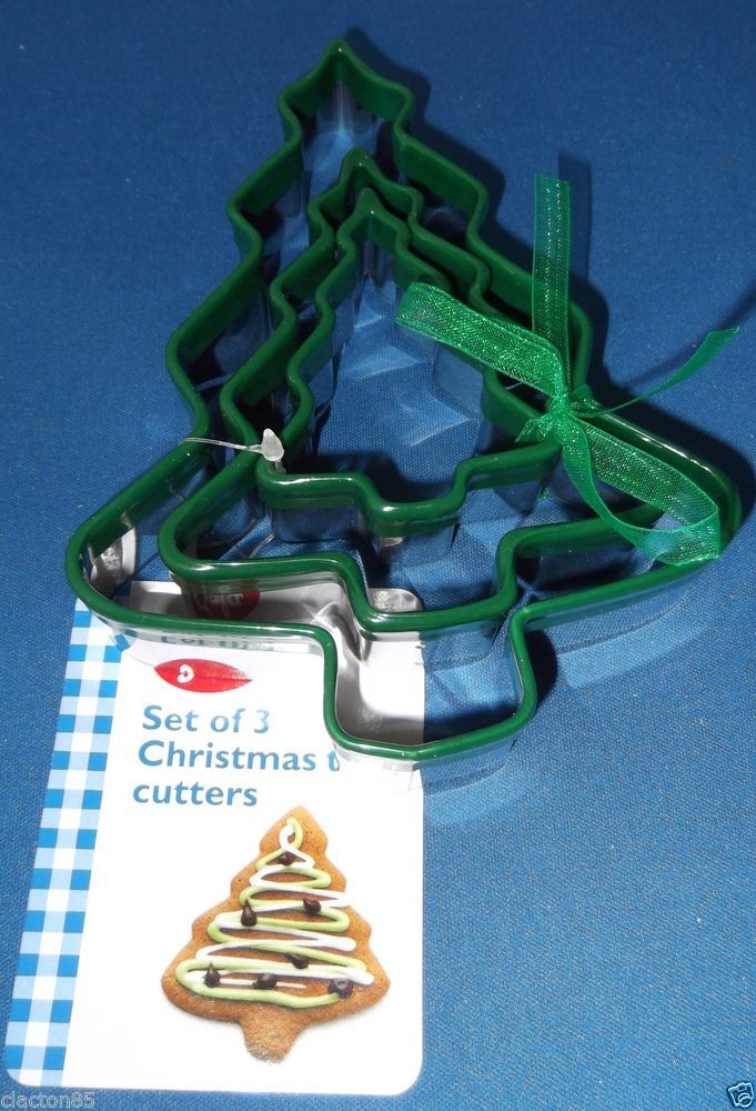 TALA STAINLESS STEEL CHRISTMAS TREE BISCUIT PASTRY COOKIE