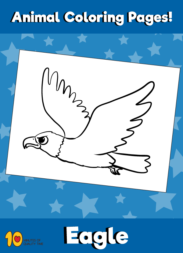 Eagle Coloring Page Animal Coloring Pages Animal Coloring