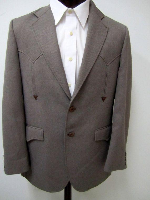 27f2a32352e1 CIRCLE S Ranch & Western Wear Sport Coat by VintageWearTreasures, $29.00
