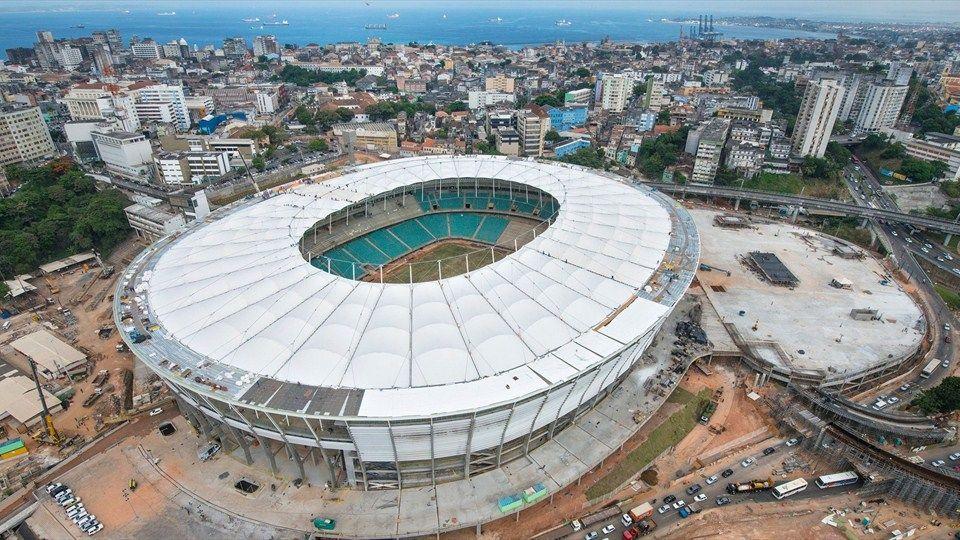 2014 FIFA World Cup™ - Obras da Arena Fonte Nova, em Salvador (BA). Primeira quinzena de fevereiro de 2013.