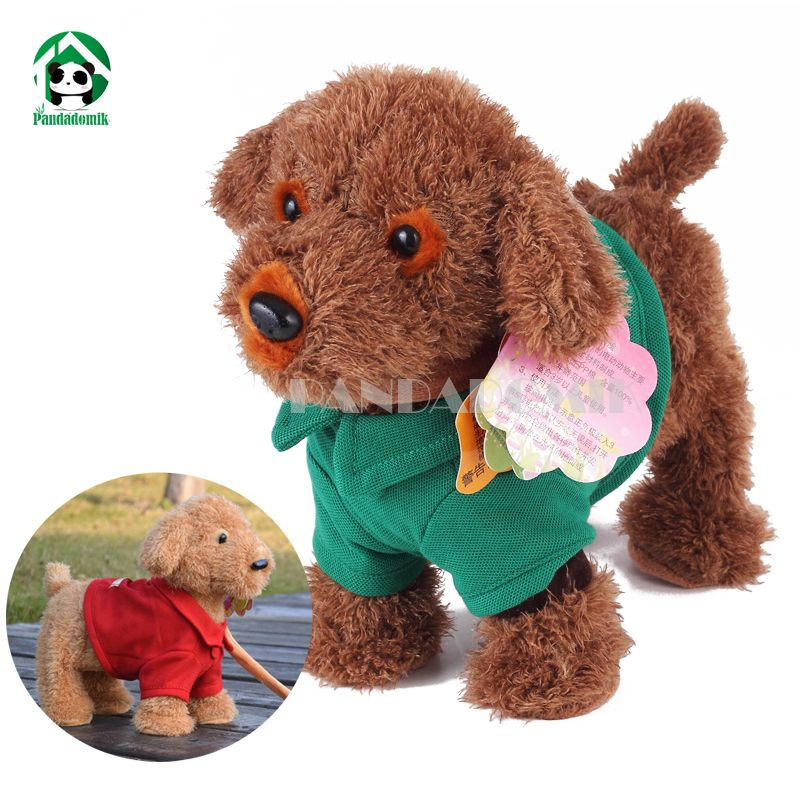 Singing Dog Hand Puppet Close To You Red Bow 9 New Plush Walmart