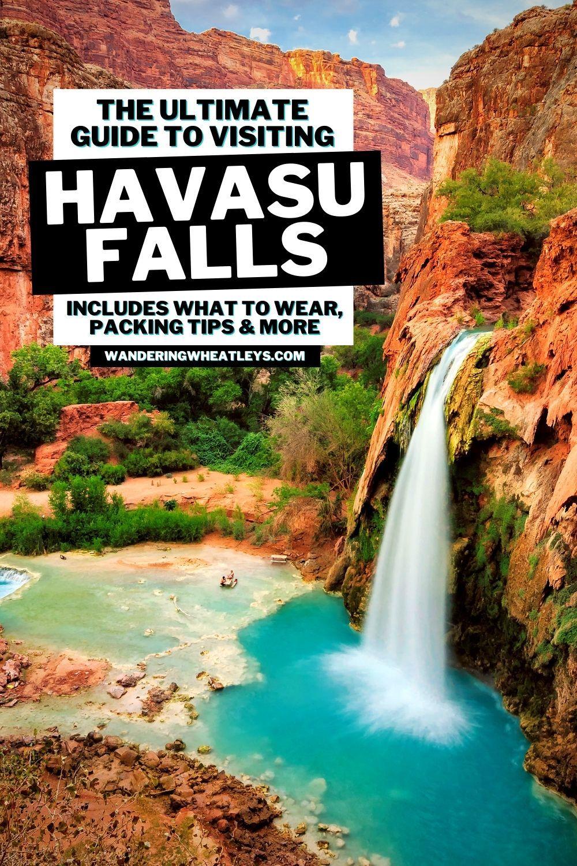 Ultimate 2020 Havasu Falls Guide Reservations Permits Hiking Camping Havasu Falls Travel Usa Usa Travel Guide