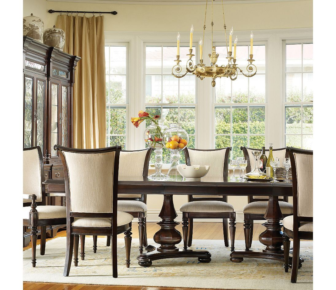 9 Piece Formal Dining Room Sets: Hooker Furniture Estate 9 Piece Dining Set
