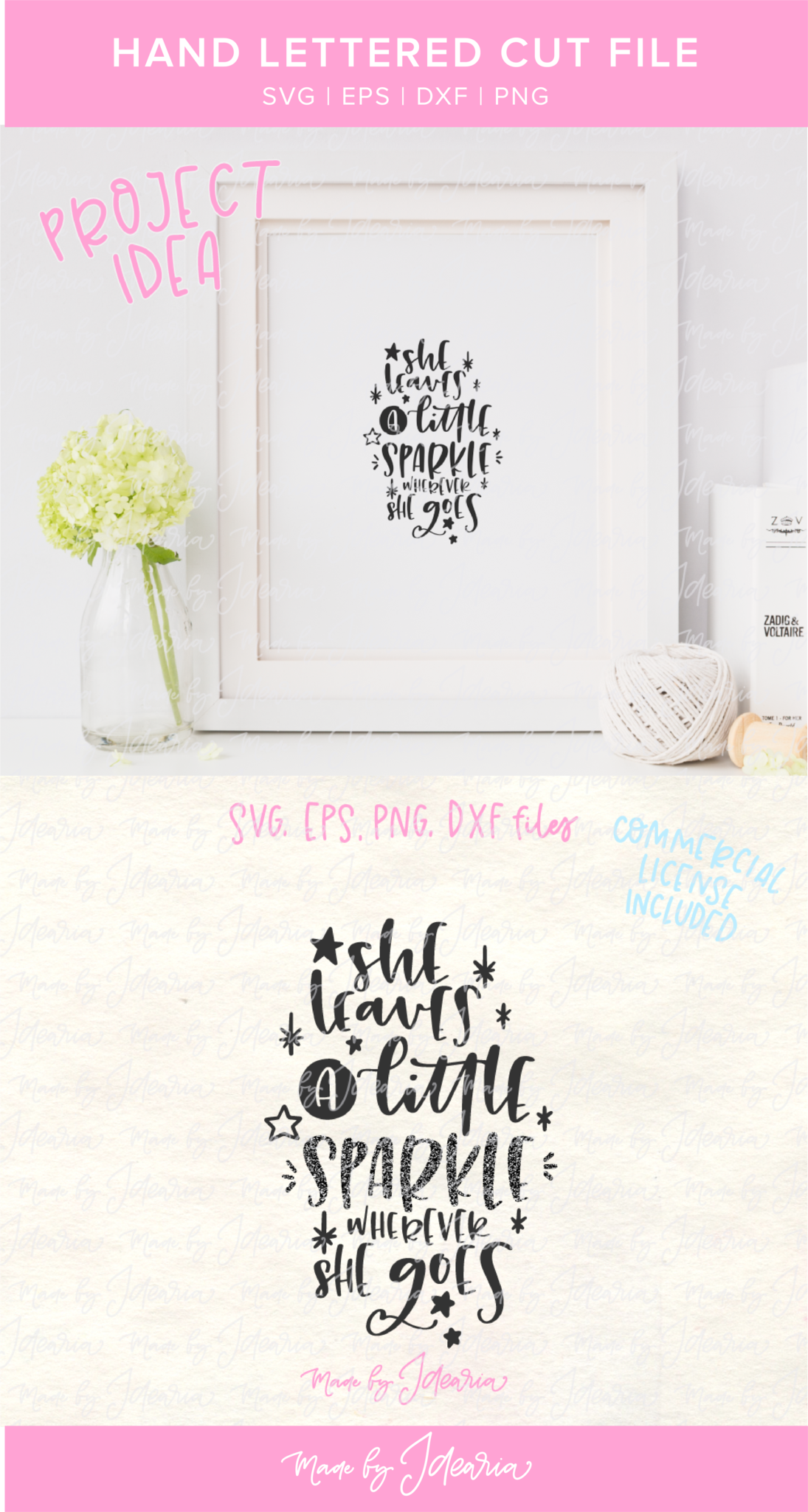 This Baby Girl Svg Featuring Quote She Leaves A Little Sparkle Wherever She Goes Would Make A Cute Nurser Cute Baby Shower Gifts Baby Girl Svg Crafts For Girls