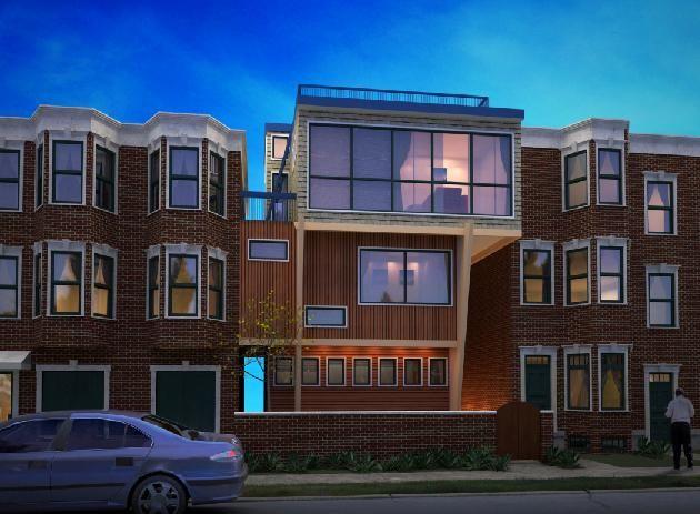 Designed originally as urban infill housing the urban Urban infill house plans