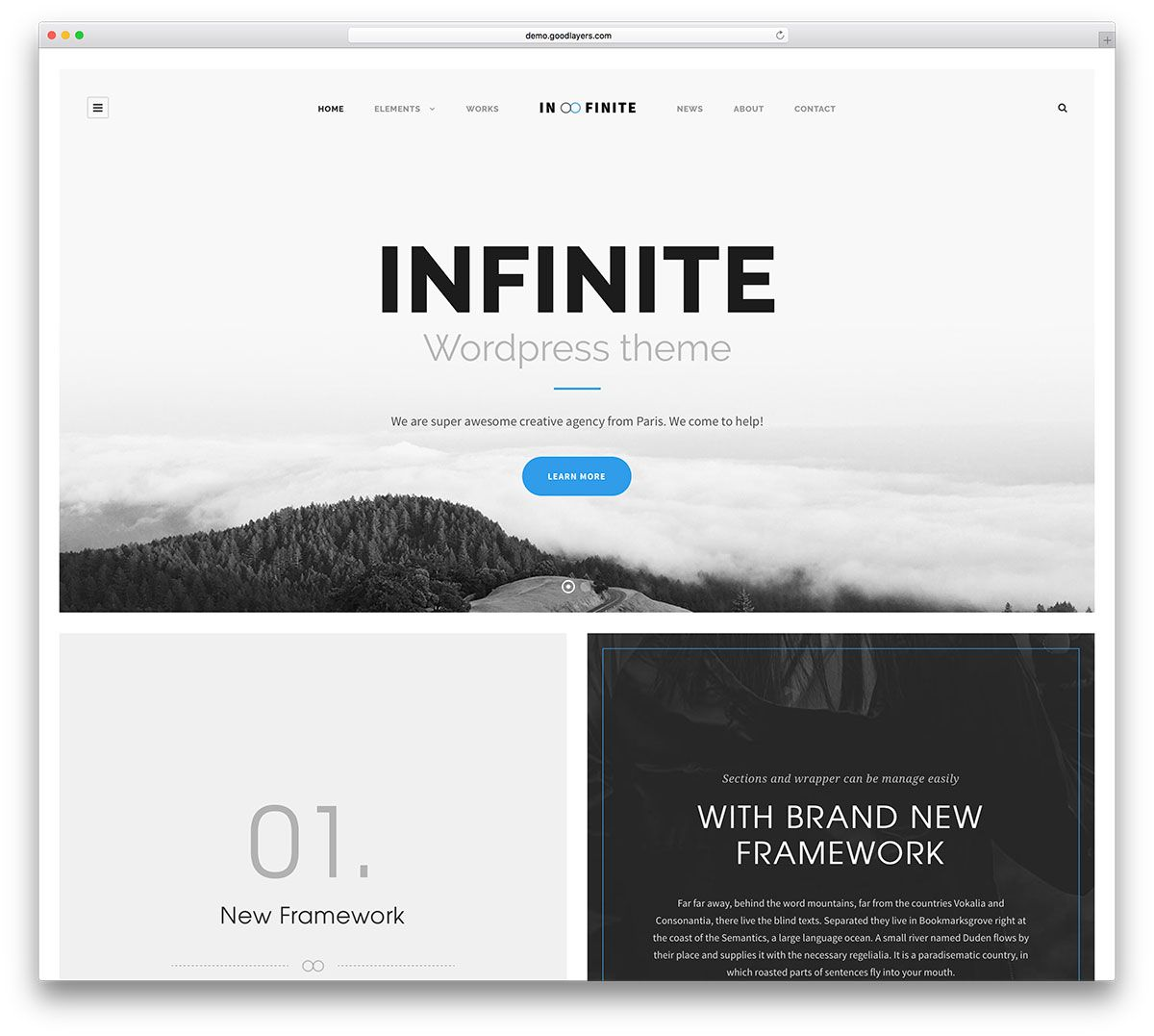 42 clean and simple wordpress themes 2020 simple