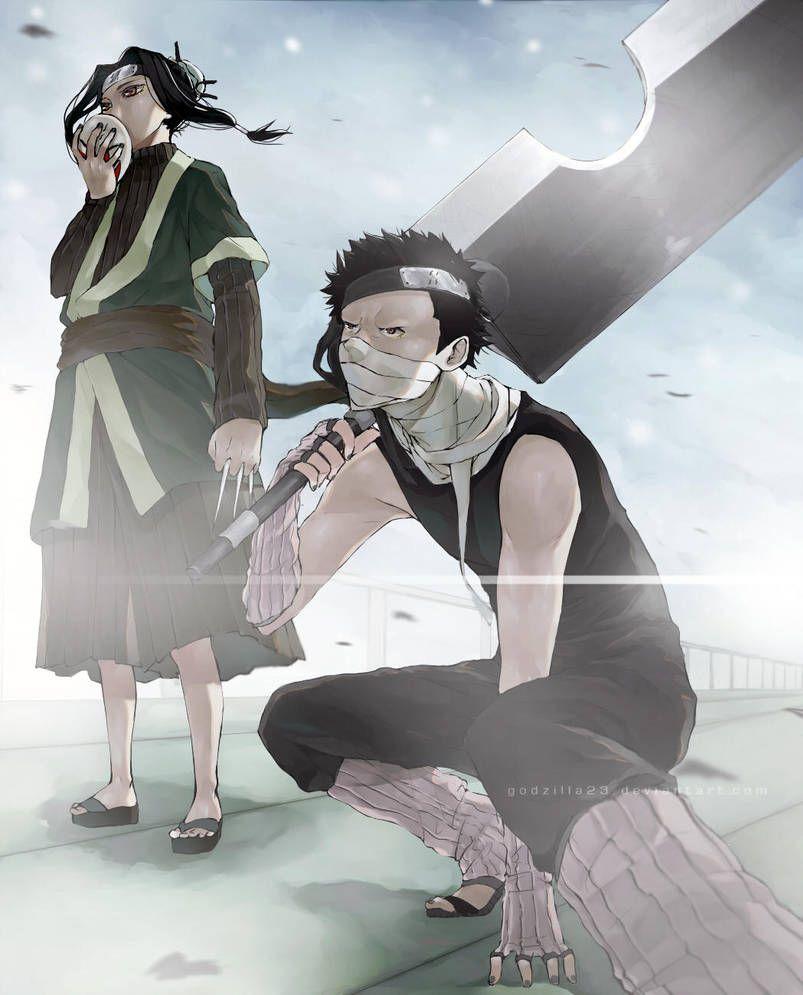 Zabuza And Haku By Godzilla23 Naruto Anime Naruto Naruto Characters