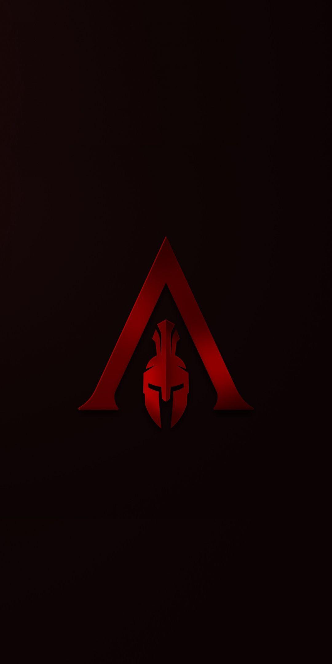 Helmet Minimal Assassin S Creed Odyssey 1080x2160 Wallpaper