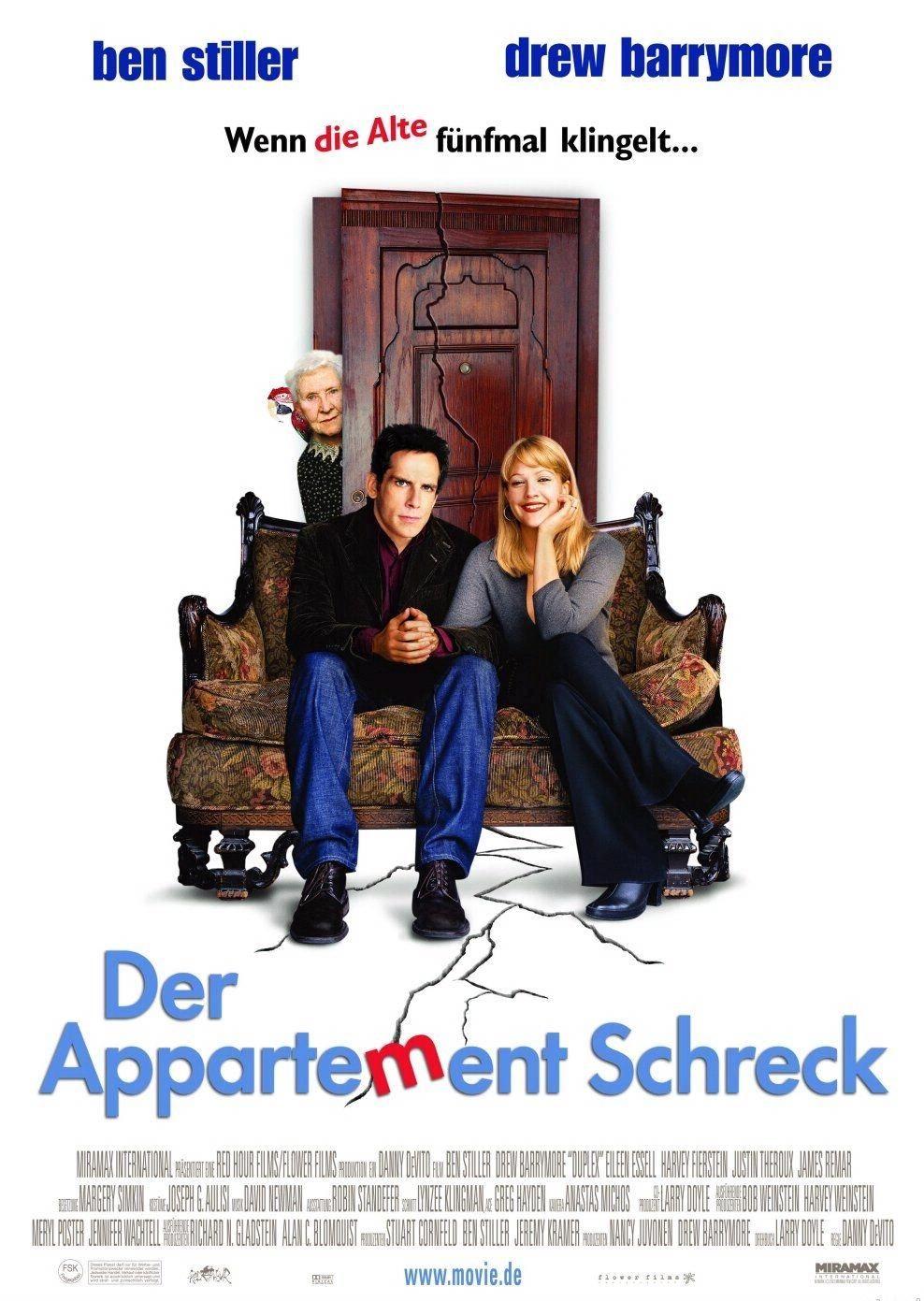 Der Appartement Schreck Duplex 2003 Lustige Filme Romantische Filme Komodien