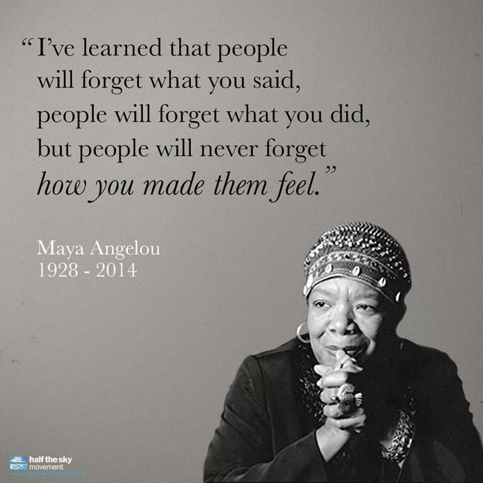 Most Inspirational Quotes Unique Remembering Maya Angelou 15 Of Her Most Inspirational Quotes  Life . Review