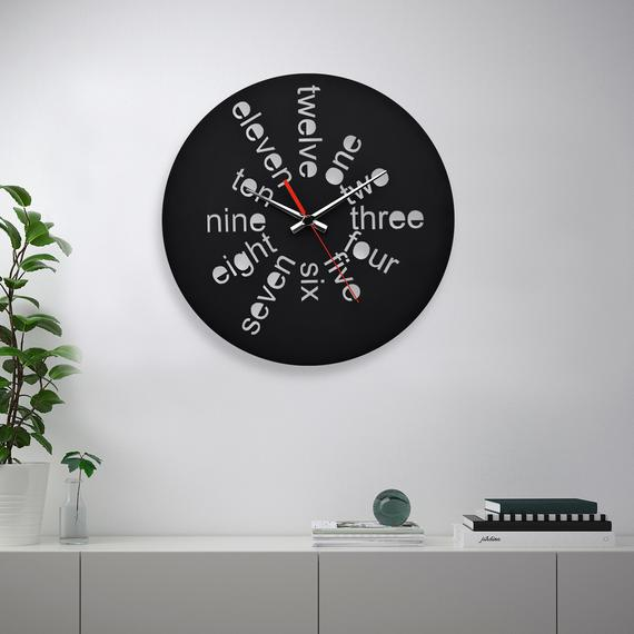 Wooden Wall Clock Unique Wall Decor For Office Unique Wall Clocks Wall Clock Nursery Rustic Wall Clocks