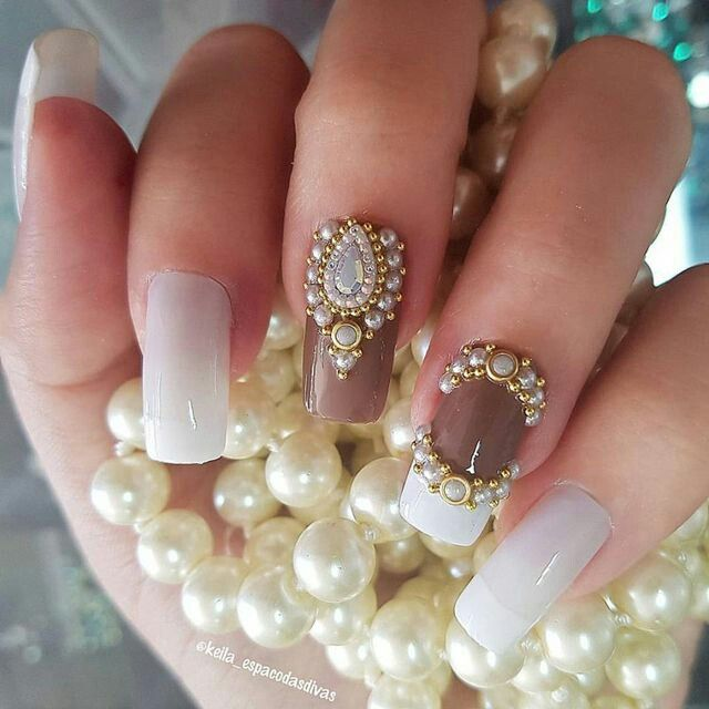 Pin by Marcela Salazar on uñas | Pinterest | Manicure, Top nail and ...