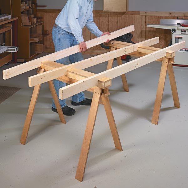 knock down shop table woodsmith tips workshop ideas pinterest werkstatteinrichtung holz. Black Bedroom Furniture Sets. Home Design Ideas