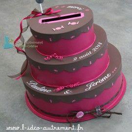 Urne Gâteau Anniversaire Wedding Marriage Et Mariage