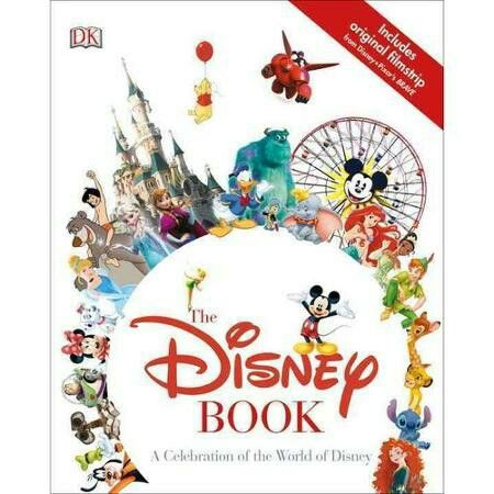 Disney Store Addict Classic Books Fiction Non Coloring Adult The Works