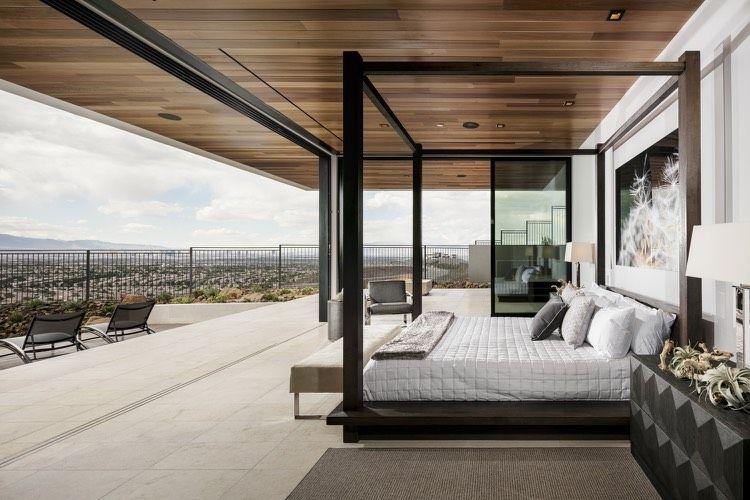 Himmelbett und Holzdecke Wohnideen fürs Schlafzimmer Pinterest - wohnideen und lifestyle
