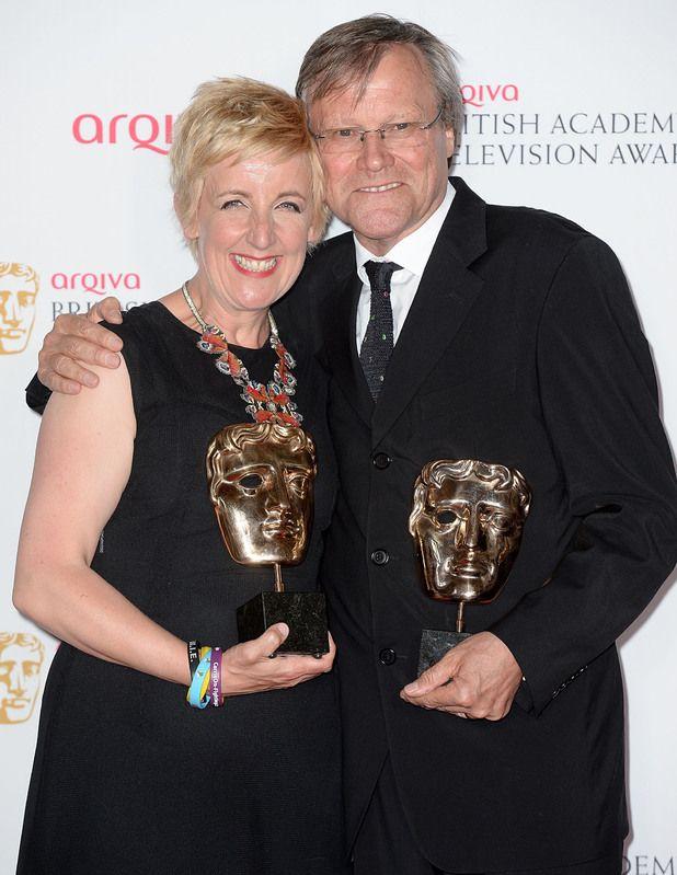 David Neilson and Julie Hesmondhalgh - Roy and Hayley. Coronation Street. British soap awards 2014