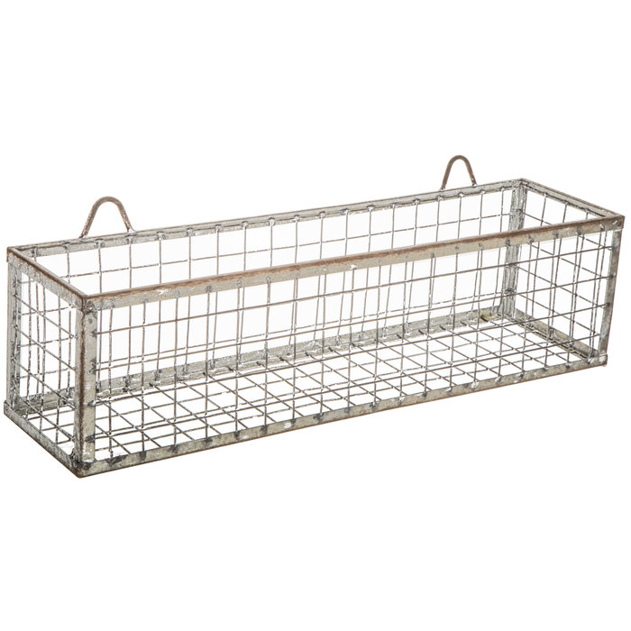 Distressed Galvanized Metal Wall Basket Hobby Lobby 1635838 Metal Wall Basket Galvanized Metal Wall Baskets On Wall